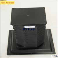 molded accordion rubber bellows