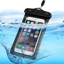 PVC phone waterproof bag for iphone 6 ,waterproof bag For smart phone