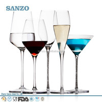 cheap stock ctystal glass stock wholesale high quality handmade art colorful table drinking glassware