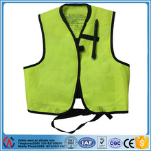 Manufacturer safety PFD Life Vest with oral tube for fishing