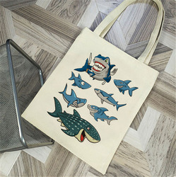 OEM hot sale fashion shopping bag tote bag canvas handle bags