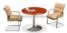 Small Round Negotiation Table With Aluminum Alloy(FOHK-1002#)