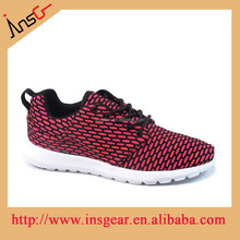 2015 fashion and comfortable flyknit men sport shoes
