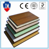High quality HPL laminated MgO board for kitchen cabinet