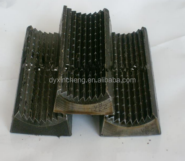 Power Tong Jaws: Different Models Of Zq203-125 Drill Pipe Power Tongs Tong