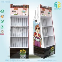 Wal-Mart POP vacuum cup paper stand ,paper display stand ,paper display