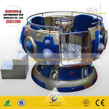 2015 Mechanical bowl rotating game machine for sale/rotary machine on amusement park