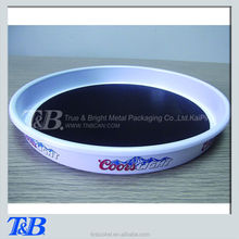 Latest design anti-slip coating beer servingl tray