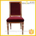 Tela de madera antiguo silla clásica
