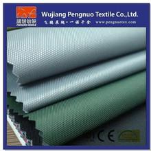 300D semi-dull oxford pu fabric