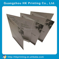 Customized color flyer printing sample leaflet