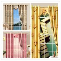 stripe blackout fabric hottest beautiful window curtain fabric; hot sale 3cm strip print curtain