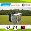 2015 eco friendly low price green zinc metal garden bed for backyard