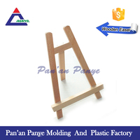 Manufacturer of wood mini display easel for kids