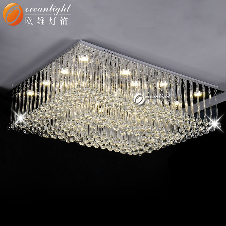 High Quality New Model Led Crystal Chandelier Ceiling Light