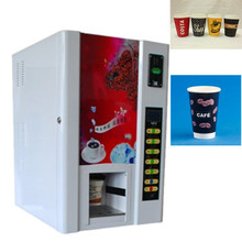 Coin operated drinks vending machine