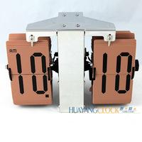 Hogift Hot sale auto flip calendar alarm clock/mini flip clock