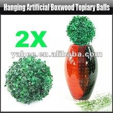 Appeso artificiale topiaria bosso palle, yfk156a