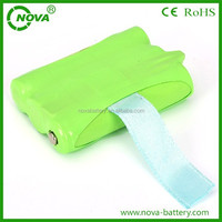 rechargeable ni-mh battery pack aaa 600mah 3.6v