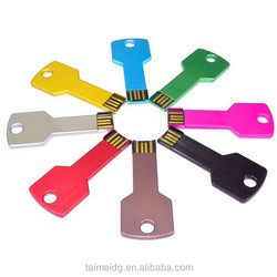 Promotional gift usb key, metal key usb, key shape usb flash drive