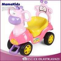 Luxury kids toys 4-wheel plastic children ride on car