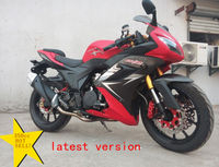 Horizon 350cc powerful racing motorcycle double cyclinder water cooled double carburater