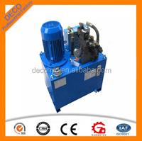 DC/AC motor driven hydraulic power set hydraulic pump unit used 220V electric hydraulic power pack