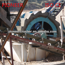 High-efficient XSD bucket wheel small sand washer from Pioneer Group!