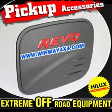 2015 Pickup Truck Accessories Matte Black Fuel Tank Cover For 2015 Hilux Revo