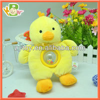 OEM Wholesaler China Stuffed Plush Rattle Chicken Toy