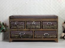 Perfect Home Organizer Woven Drawer Basket Storage Cabinet Plastic Drawer