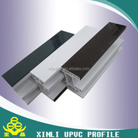 Professional pvc window and door frame manufacture upvc profiles cheap