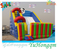 Cute Panda Bouncy Castle Inflatable Slide For Rental Or Outdoor Playground Equipment