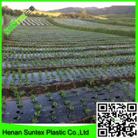 high quality 100% new mayerial with UV protective plastic film blowing/agricultural black mulch film