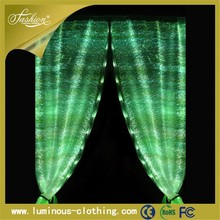 fiber optics fabric light arabic curtains for home made in china