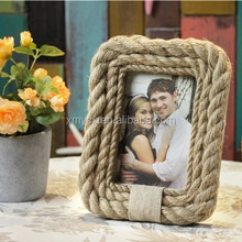 wholesale 2015 new style hemp rope new picture frames