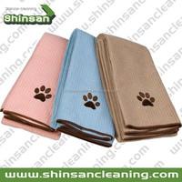 Superior microfiber bath towel for pet/Microfiber towels for dog pet product/Microfiber Pet Cleaning Towel For Dog