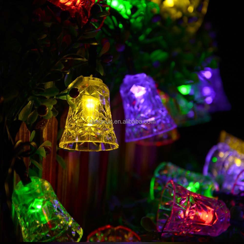 Led String Lights Short : Solar Christmas Lights 17.9ft 6.5m 30 Led 8 Modes Bell Solar String Lights - Buy Bell Solar ...