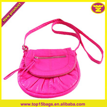 Flash Pink Color Cut Girls School Bag