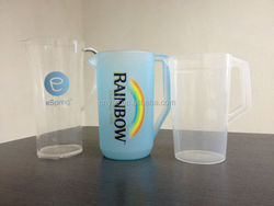 hot sale plastic 1.5/1.8/2.0 beer pitcher /Bar Party Club Disco /Energy drink pitcher