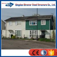 prefabricated luxury homes iron house