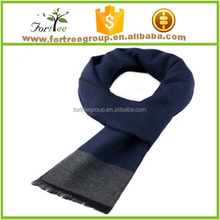autumn and winter male silk brushed scarf