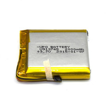 High discharge battery 913745 lithium polymer battery 3.7v 2000mAh rechargeable for Communication Device, ECG instrument
