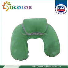 ecofriendly pvc Best-selling Anti-bacteria And Anti-mite Bamboo Velvet Fabric Memory Foam Baby Head Pillow used on planet