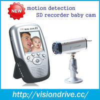 2014 PAlm baby monitor baby monitoring and audio seurity product with motion detection