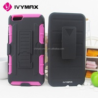super PC bumper phone case for iphone 6s plus robot silicone covers
