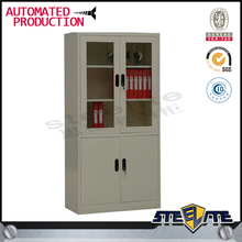 steel master file cabinets/stainless steel cabinet/double door office storage
