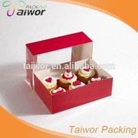 Manufacturer Hot Sale Cupcake Food Packaging Boxes