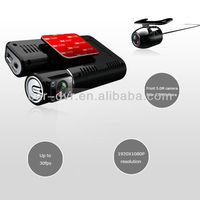 HD 3.0 inch Camera Car DVR With Special Car DVD and GPS Tracker Plotter
