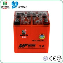 Small 12v 3ah Rechargeable Motorcycle Battery for YB3L-BS
